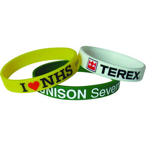 Printed Silicone Wristbands - 15405T