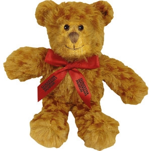 5 Inch Jango Bear with Neck Bow - 14701T